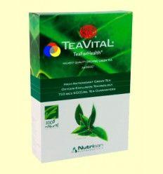 TeaVital - Té Verde - 100% Natural - 125 gramos