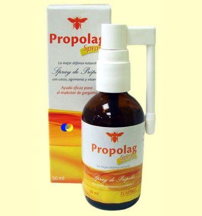 Propolag Spray - Ayuda para la garganta con Propóleo - Eladiet - 50 ml