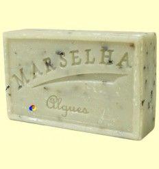 Pastilla Jabón Natural Algas - Marselha - 125 gramos