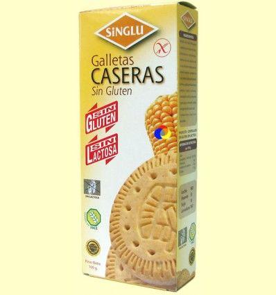 Galletas María Caseras Sin Gluten - Singlu - 100 gramos