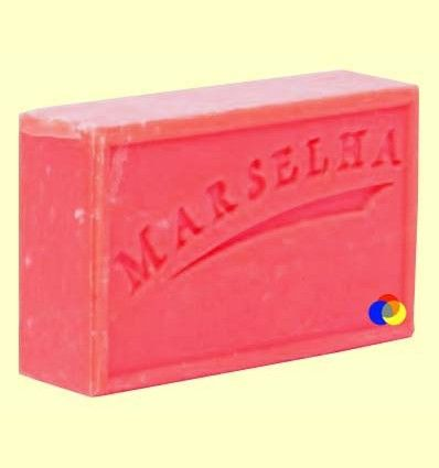 Pastilla Jabón Natural Cereza - Marselha - 125 gramos
