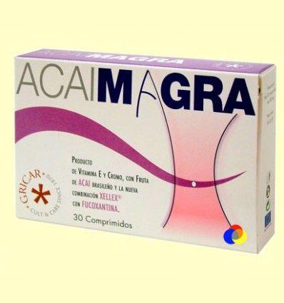 Acai Magra - Control del Peso - Gricar - 30 comprimidos