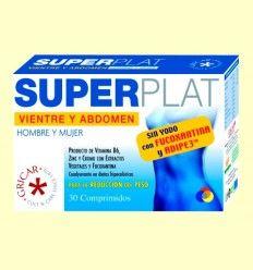 Super Plat - Vientre y Abdomen - Gricar - 30 comprimidos