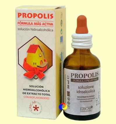 Própolis Hidroalcohólico - Gricar - 50 ml