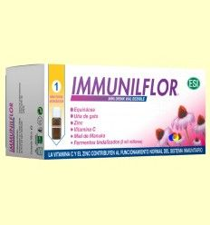 Immuniflor Viales - Resfriados - Laboratorios ESI - 12 mini drinks