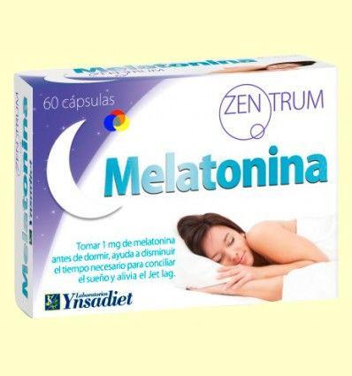 Zentrum Melatonina - Ynsadiet - 60 cápsulas