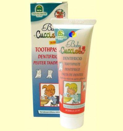 Dentífrico Cucciolo Baby - Natura House - 50 ml