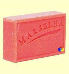 Pastilla Jabón Natural Fresa - Marselha - 125 gramos