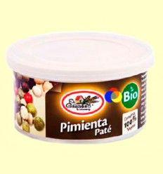 Paté Pimienta Bio - El Granero - 125 gramos