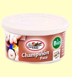 Paté Champiñón Bio - El Granero - 125 gramos