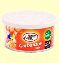 Paté Garbanzos Bio - El Granero - 125 gramos