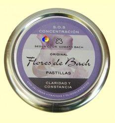 Caramelos Originales Flores de Bach - Claridad y Constancia - Lemon Pharma - 50 gramos