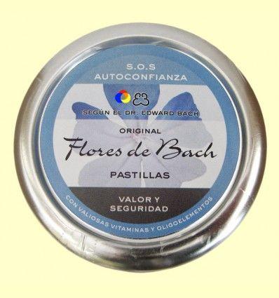 Caramelos Originales Flores de Bach - Valor y seguridad - Lemon Pharma - 50 gramos