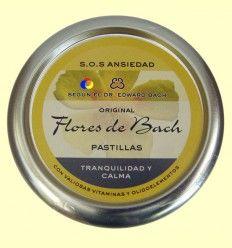 Caramelos Originales Flores de Bach - Tranquilidad y Calma - Lemon Pharma - 50 gramos