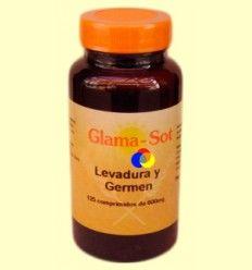 Levadura y Germen - Glama Sot - 125 comprimidos