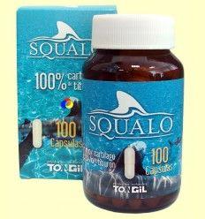 Squalo - Cartílago de tiburón - Tongil - 100 cápsulas