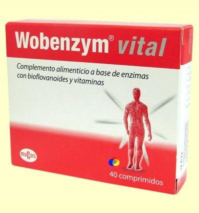 Wobenzym® vital - Diafarm - 40 comprimidos