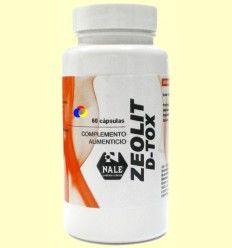 Zeolit D-Tox - Desintoxicante Natural - Laboratorios Nale - 60 cápsulas