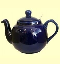 Tetera Cerámica Azul con filtro metálico - London Pottery - 1200 ml