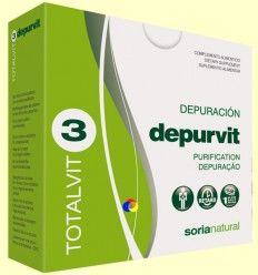 Totalvit 3 Depurvit- Depurativo - Soria Natural - 28comprimidos