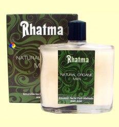 Emulsión facial Post afeitado - Natural Organic Man - Rhatma - 100 ml ******