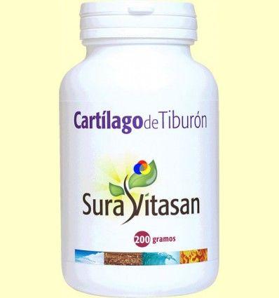 Cartílago de Tiburón polvo - Sura Vitasan - 200 gramos