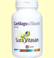 Cartílago de Tiburón 750 mg - Sura Vitasan - 90 cápsulas