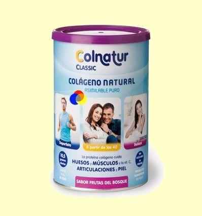 Colágeno Colnatur Classic Sabor Frutas del Bosque - Colnatur - 300 gramos