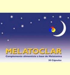 Melatoclar - Trastornos del sueño - Dieticlar - 30 cápsulas