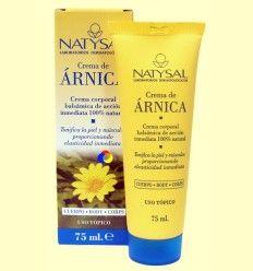 Crema de Árnica - Natysal - 75 ml