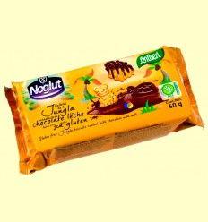 Galletas de la Jungla Bañadas con Chocolate con Leche Noglut - Sin Gluten - Santiveri - 60 gramos