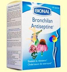 Bronchilan Antiseptine - Sistema Respiratorio - Bional - 40 cápsulas