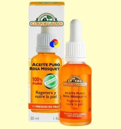 Aceite 100% Puro Rosa Mosqueta - Corpore Sano - 30 ml