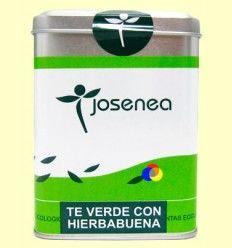 Té Verde con Hierbabuena - Josenea infusiones ecológicas - 20 infusiones pirámides
