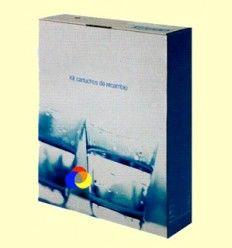 "Kit universal filtros - osmosis 9 3/4"" - Aqua y Vida"
