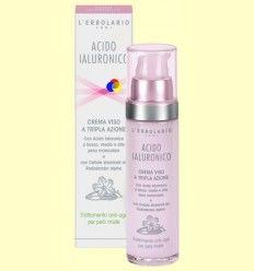 Ácido Hialurónico - Fluido cara - Anti-edad para piel mixta - L'Erbolario - 50 ml