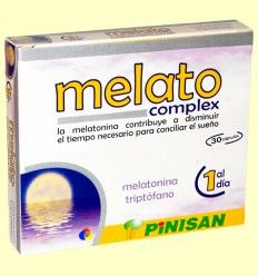 Melato Complex - Pinisan Laboratorios - 30 cápsulas
