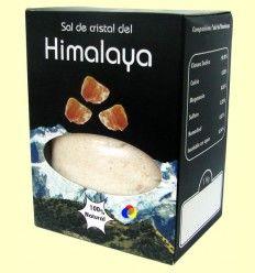 Sal de Cristal Rosa del Himalaya Fina - Tierra 3000 - 1 kg