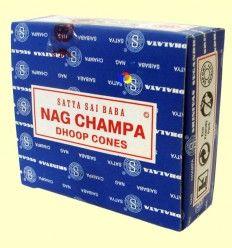 Conos Nag Champa - Incienso Sai Baba - 12 conos