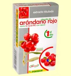 Extracto Titulado de Arándano Rojo - Pinisan Laboratorios - 30 cápsulas