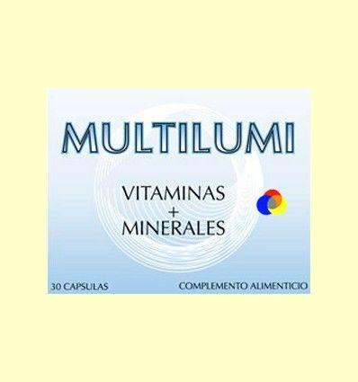 Multilumi - Vitaminas y Minerales - Dieticlar - 30 cápsulas