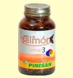 Perlas de Salmón - Pinisan Laboratorios - 120 perlas