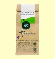 Té verde con Hierbabuena - Josenea infusiones ecológicas - 50 gramos
