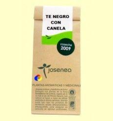 Té negro con canela granel - Josenea infusiones ecológicas - 50 gramos