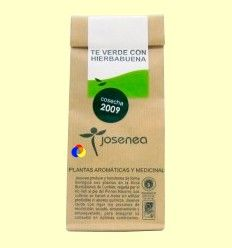 Té verde con hierbabuena - Josenea infusiones ecológicas - 10 pirámides