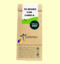 Té negro con canela - Josenea infusiones ecológicas - 10 pirámides