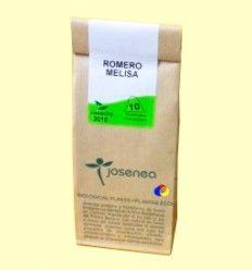 Romero + Melisa - Josenea infusiones ecológicas - 10 pirámides
