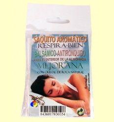 Saquito aromático efecto balsámico - Mejorana - Aromalia