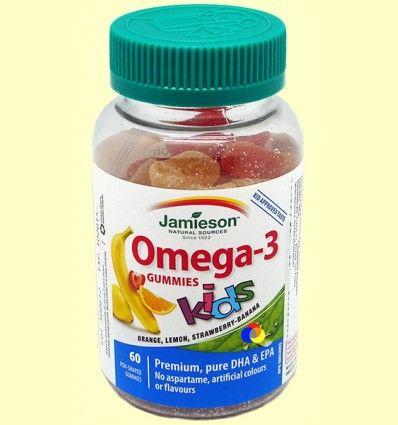 Omega 3 Gummies - Omega-3 para niños - Jamieson - 60 gominolas
