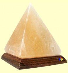 Lámpara de Sal Himalaya con forma de Pirámide